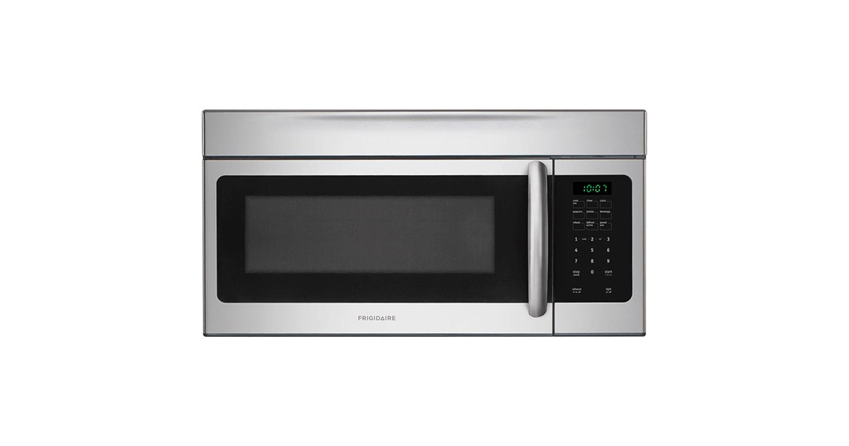 FRIGIDAIRE FFMV164LS 30-inches Stainless Steel Over the Range Microwave image