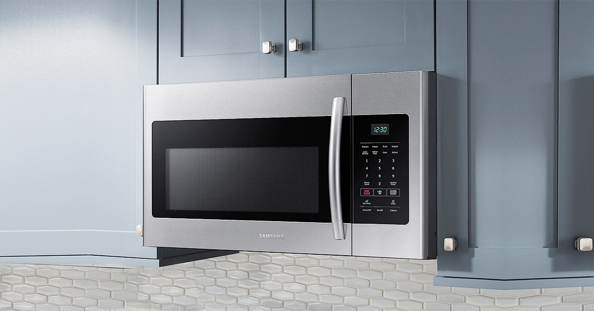Top 10 Best Samsung Over The Range Microwave Ovens Review