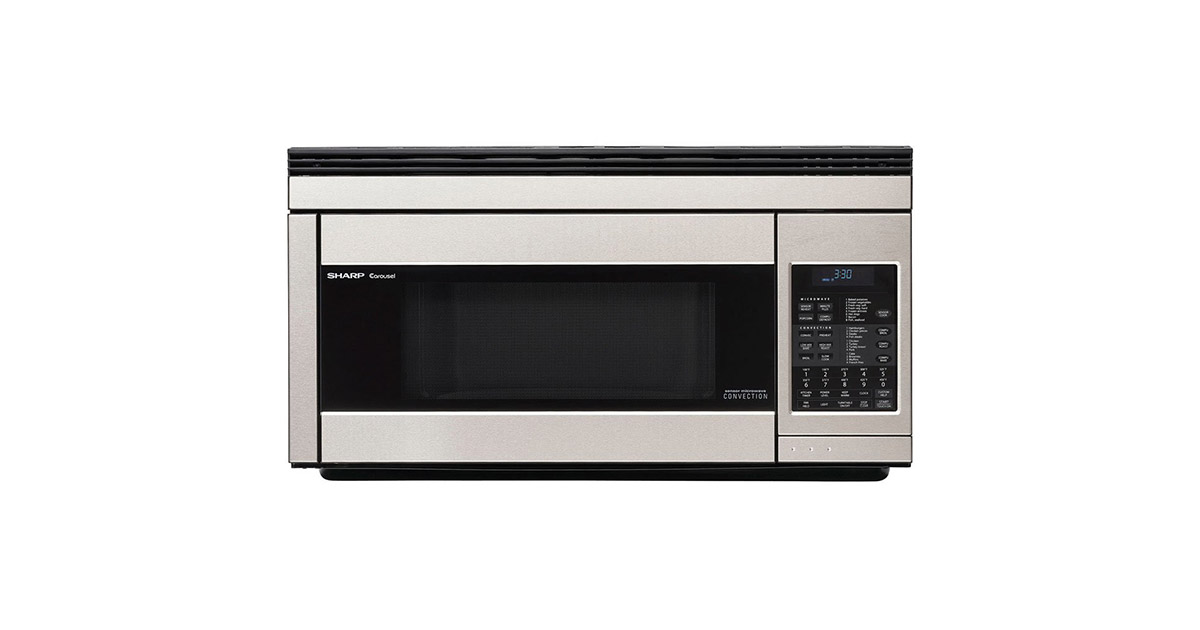 Sharp R1874T Stainless Steel Over the Range Convection Microwave image