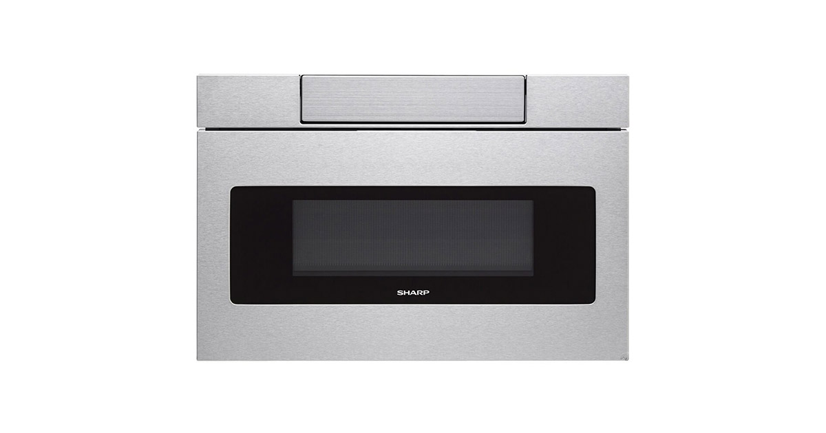 Sharp SMD2470AS 24Inches Stainless Steel Microwave Drawer Oven image