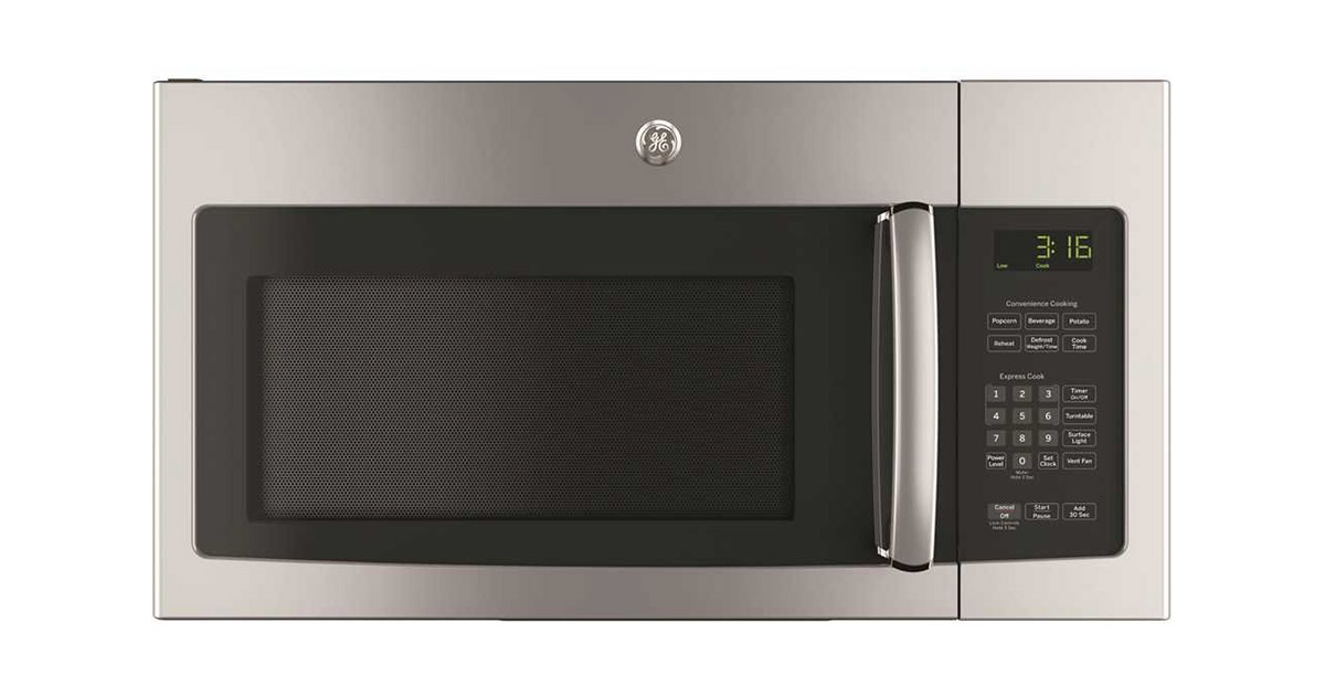 Ge Over The Range Microwave Ovens