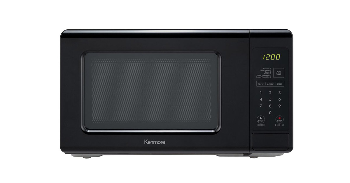 Kenmore 70719 Countertop Black Microwave Oven image