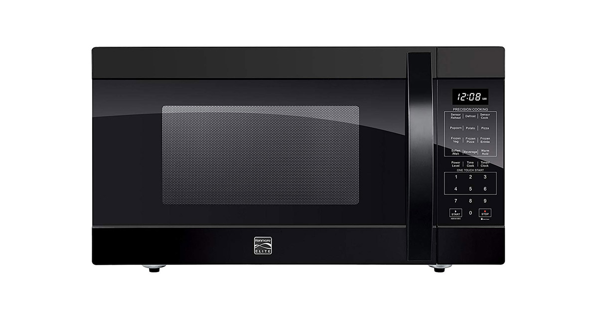 Kenmore 79399 Black Counter Top Microwave Oven image