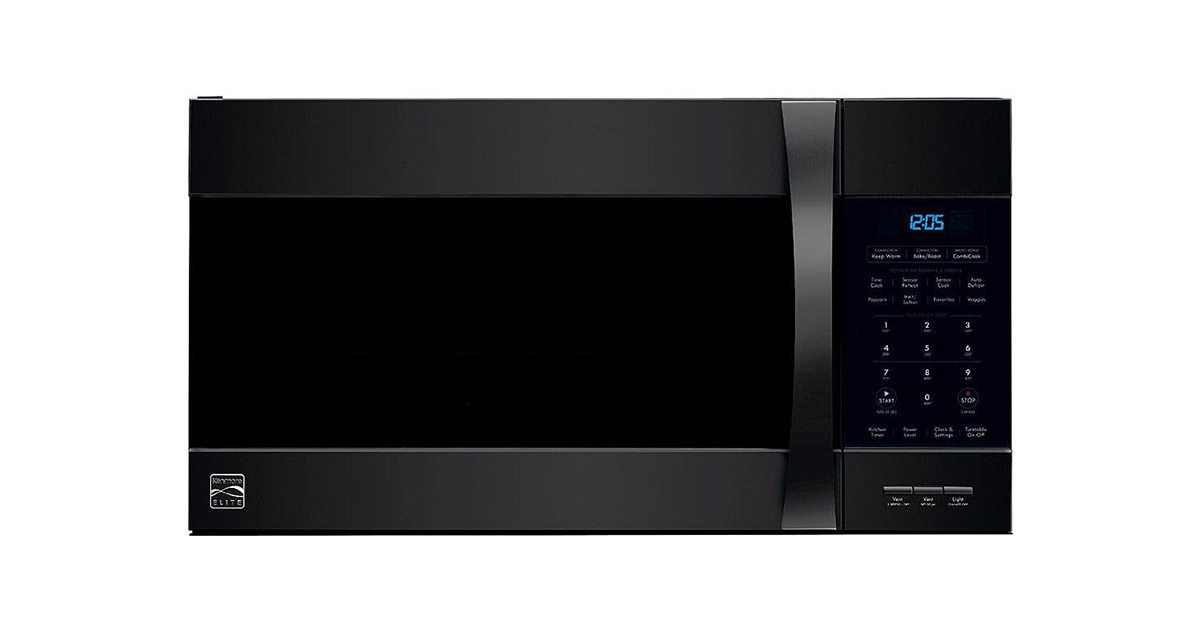 Kenmore 80379 Elite Over the Range Microwave Hood Combination Convection Oven image