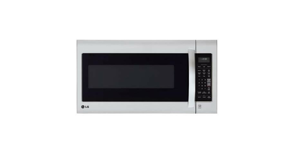 LG LMV2031ST Stainless Steel Over the Range Microwave Oven image