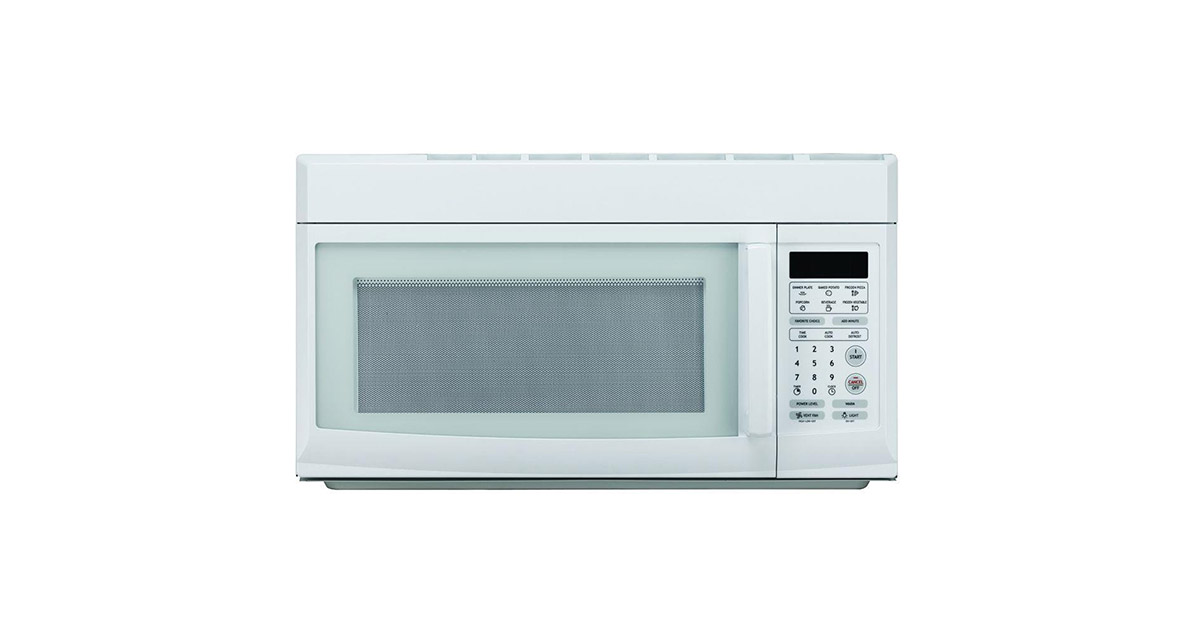 Magic Chef MCO160UW White Over the Range Microwave Oven image