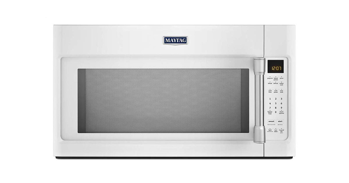 Maytag MMV4205DH Over the Range White Microwave Oven image