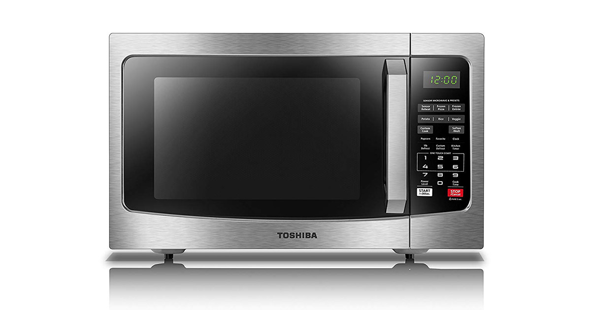 Toshiba EM131A5CSS Stainless Steel Microwave Oven image