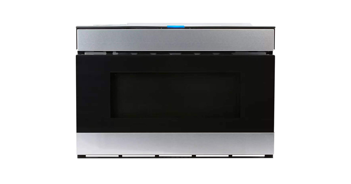 Sharp SMD2480CS 24inches Stainless Steel Wave Microwave Drawer image