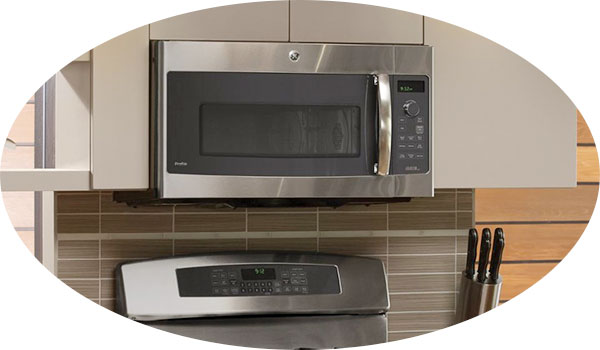 Installation of Over the Range Microwave Oven image