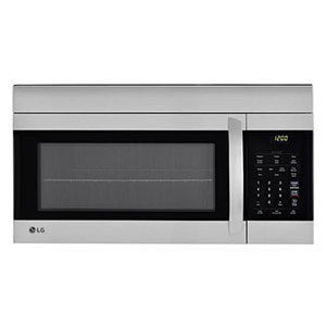 over the range microwave oven image