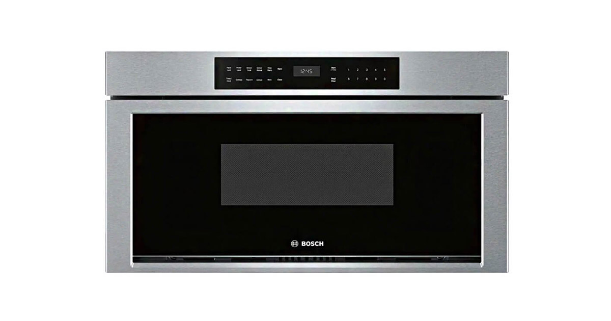 Bosch HMD8053UC Stainless Steel Microwave Drawer image