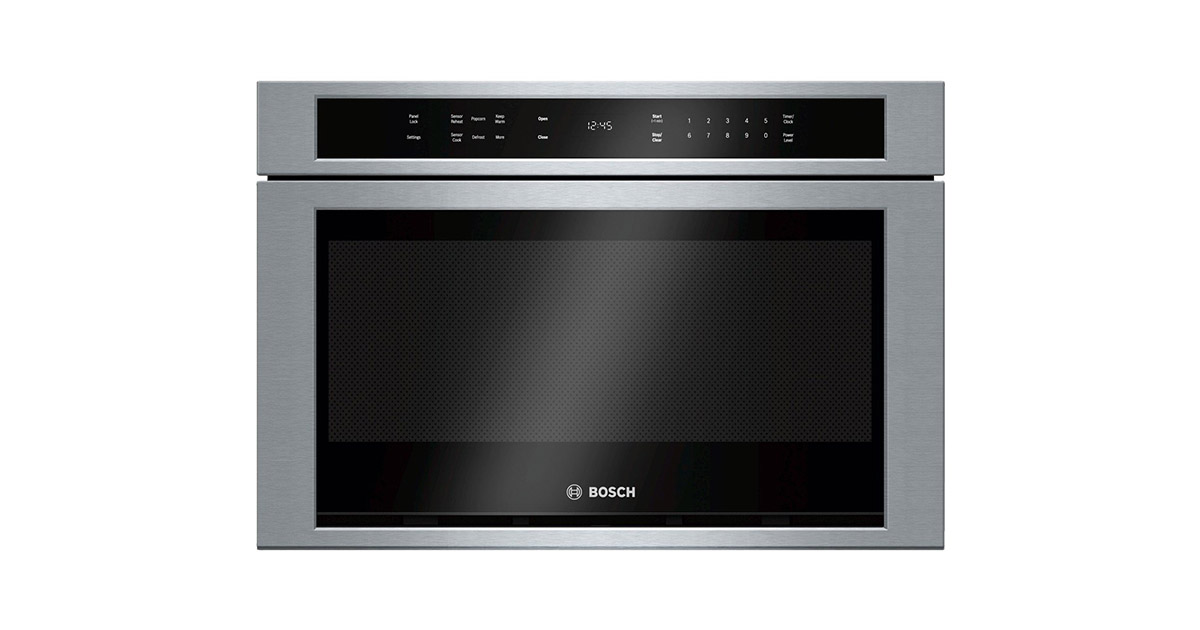 Bosch HMD8451UC 24inches Stainless Steel Microwave Drawer image
