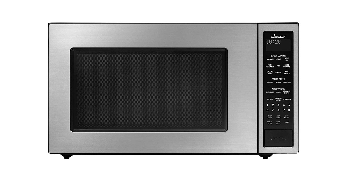 Dacor DMW2420S 24-inches Distinctive Series Counter Top or Built-In Stainless Steel Microwave Oven image