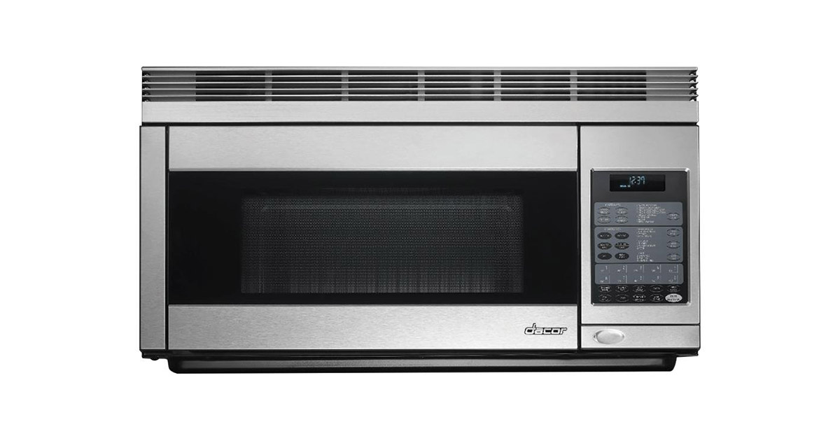Dacor PCOR30B 30inches Over the Range Convection Black Microwave Hood image