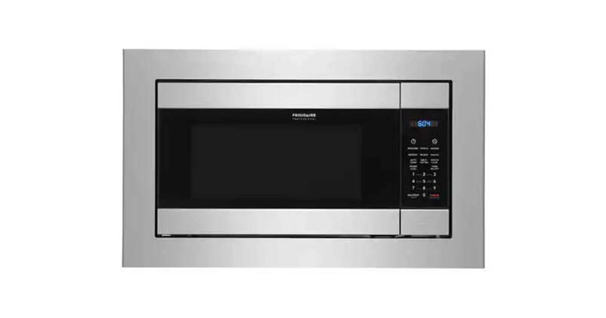 Frigidaire FPMO227NUF 25-Inches Built-In Stainless Steel Microwave Oven image