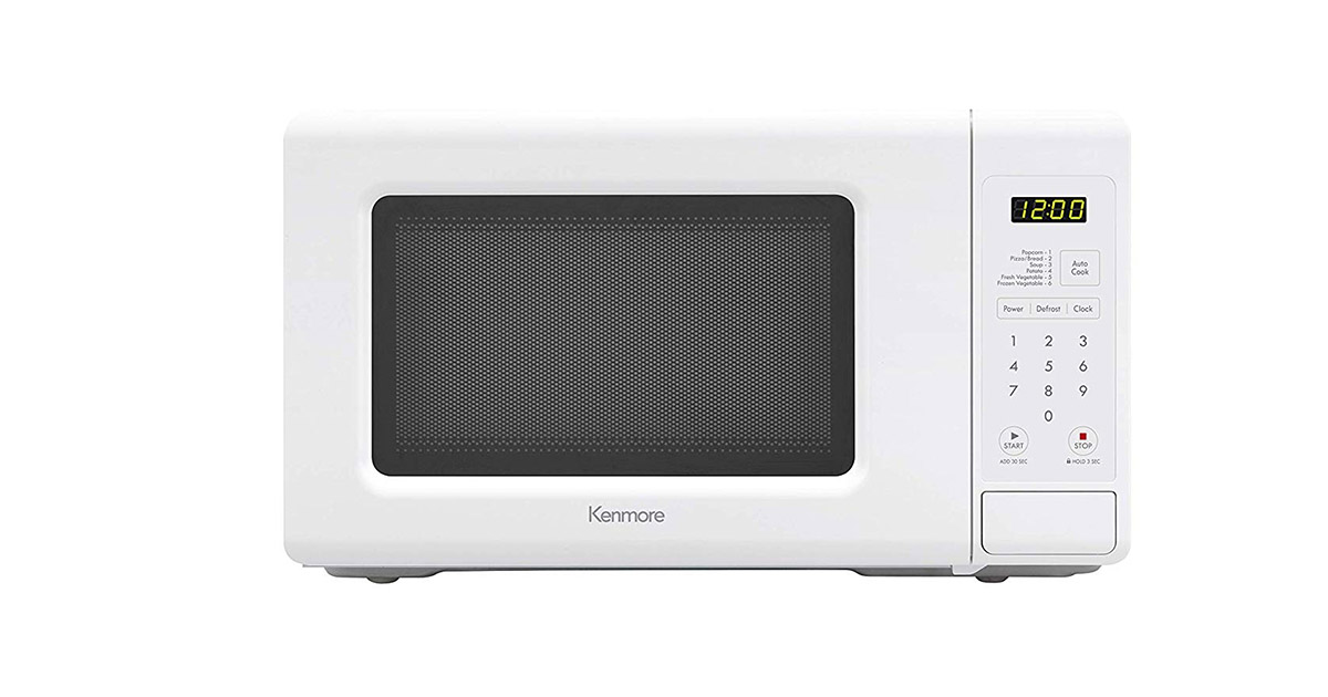 Kenmore Small 70712 White Countertop Microwave Oven image