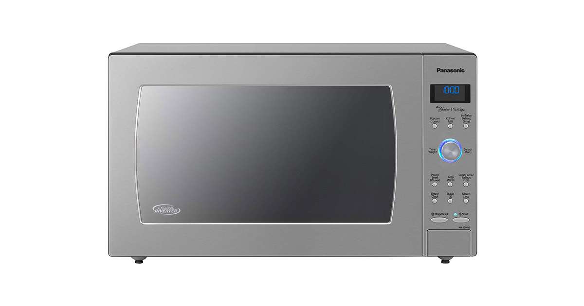 Panasonic NN-SD975S Countertop Built-In Stainless Steel Microwave Oven image