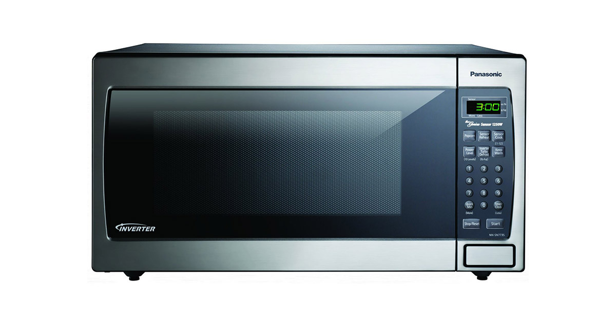 Panasonic NN-SN773SAZ Stainless Steel Silver Countertop Built-In Microwave Oven image