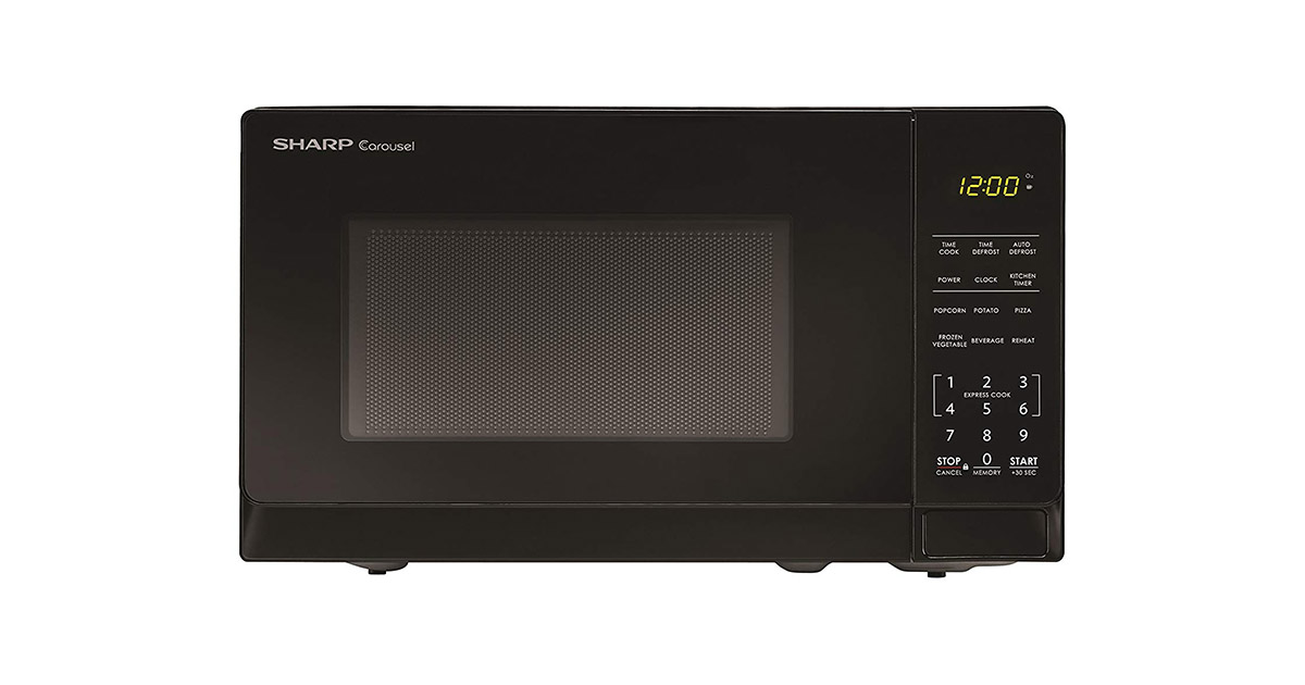 Sharp Microwaves ZSMC0710BB Countertop Black Microwave Oven image