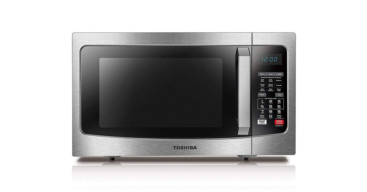 Toshiba EC042A5C-SS Convection Stainless Steel Microwave Oven image