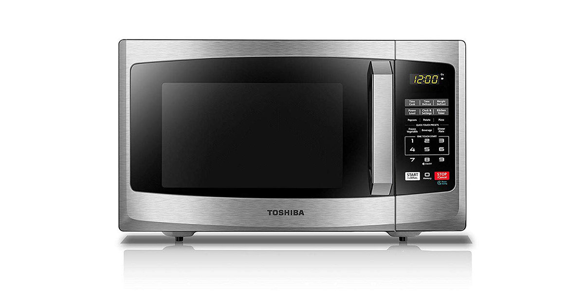 Toshiba EM925A5ASS Stainless Steel Microwave Oven image