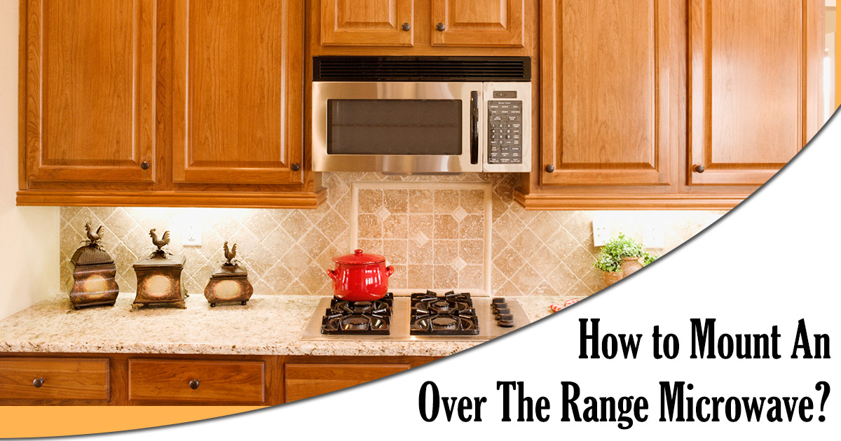 How to Mount Over the Range Microwave image