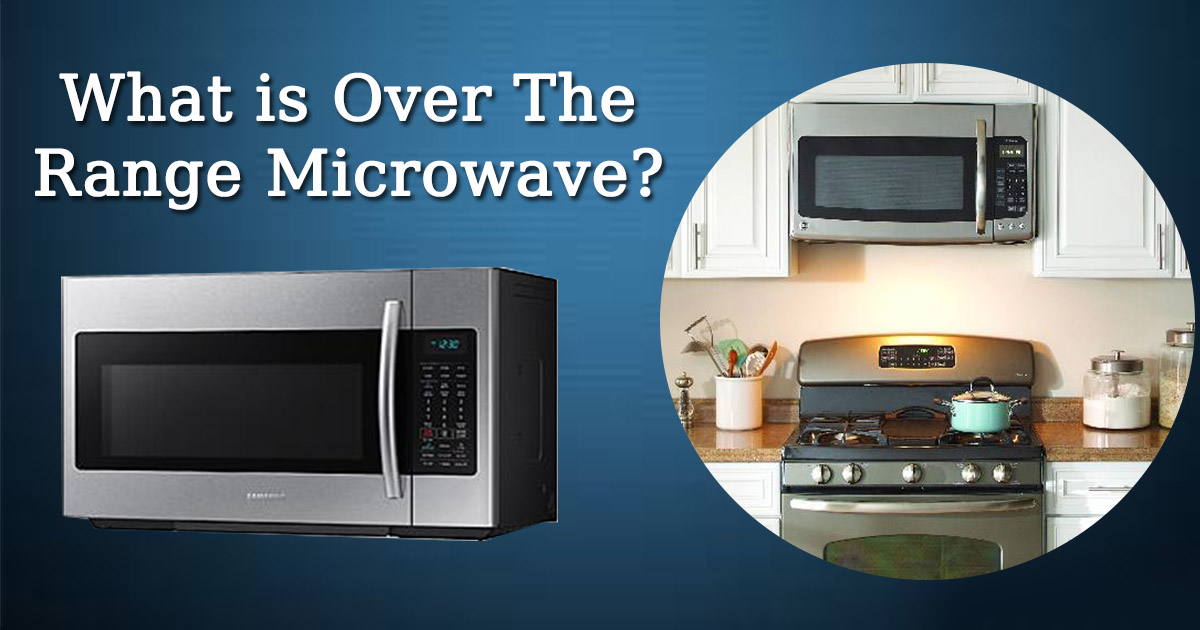 What is Over the Range Microwave image