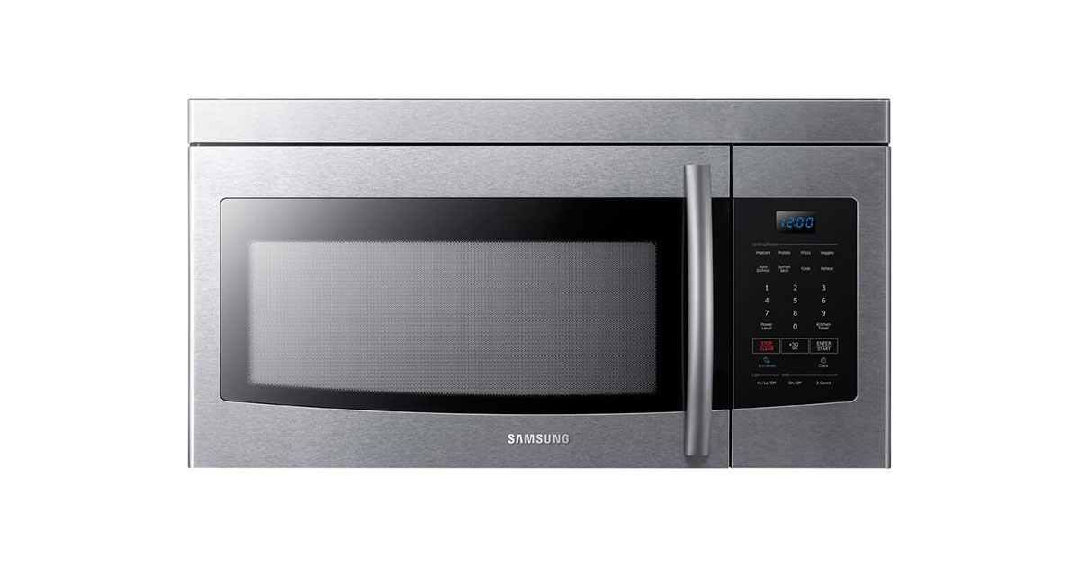 Samsung-ME16K3000AS-Stainless-Steel-Over-The-Range-Microwave-image