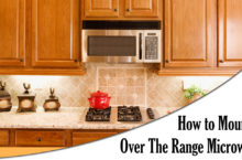 Simple Guide to Mount Over the Range Microwave