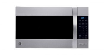 Kenmore 80373 Elite convection Stainless Steel Microhood Combinations Over the Range Microwave Oven image