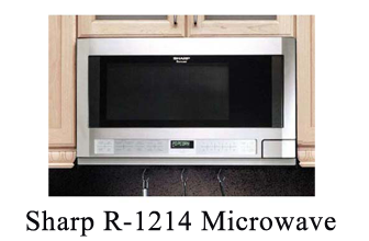 Sharp R 1214 Microwave Over The Counter Reviews 2018