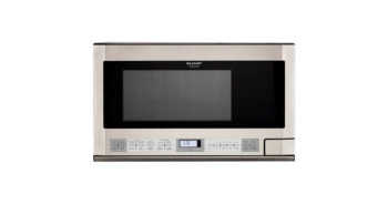 Sharp R1214 Stainless Over the Counter Microwave image