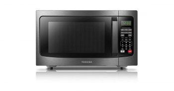 Toshiba EM131A5C-BS Black Stainless Steel Microwave Oven image