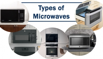 Microwave Types | Over the Range Microwave Vent Types