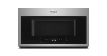 Whirlpool WMH78019HZ 30inches Smart Over the Range Convection Stainless Steel Microwave Oven image